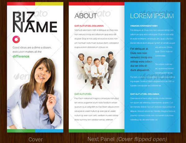 Simple Brochure Examples Ideal Vistalist Co
