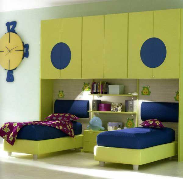 Stylish kids bedroom design  bedroom  Pinterest