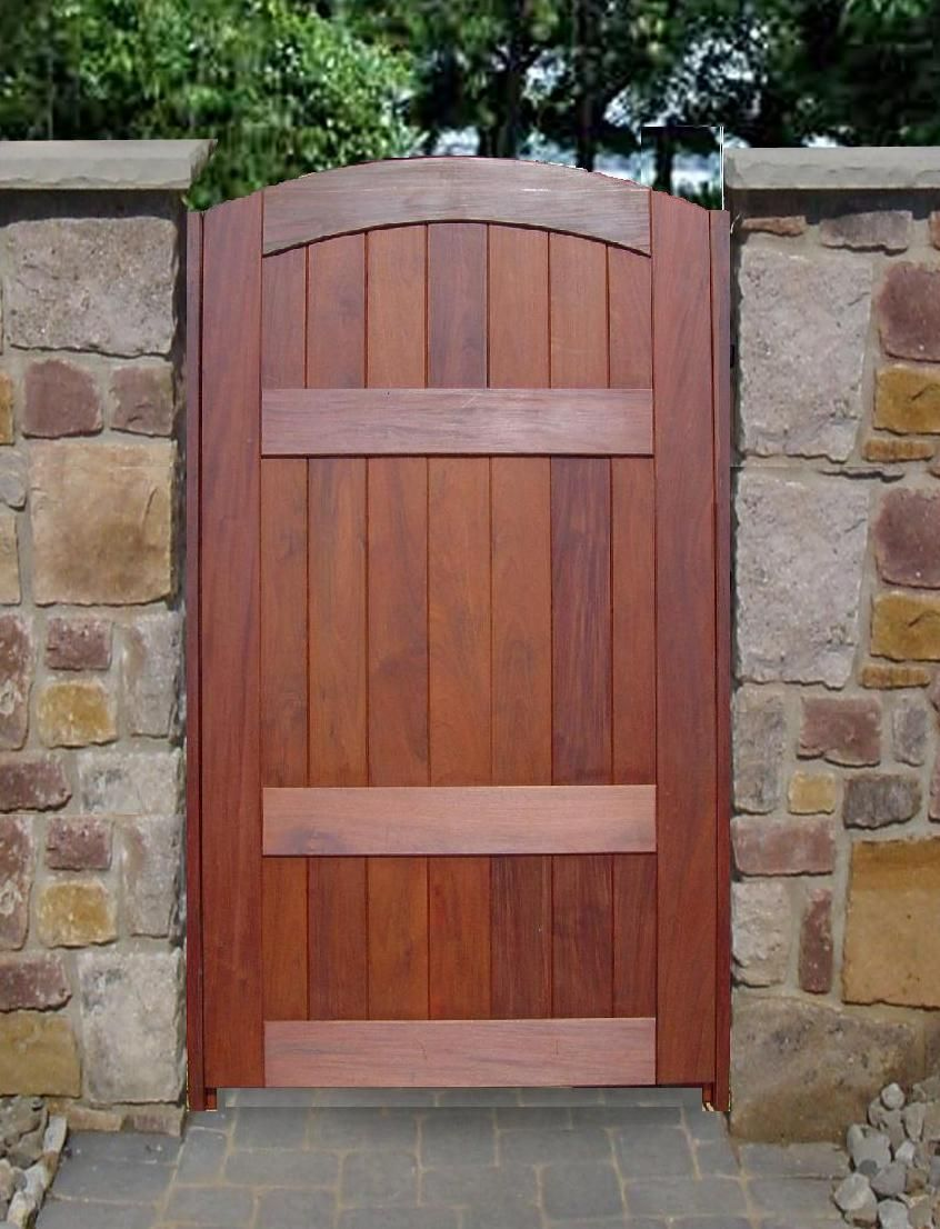 Patio Gate Door Our Wooden Timber Garden And Driveway Gates