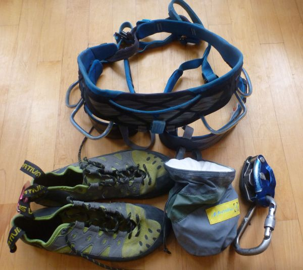 Beginners Rock Climbing Gear