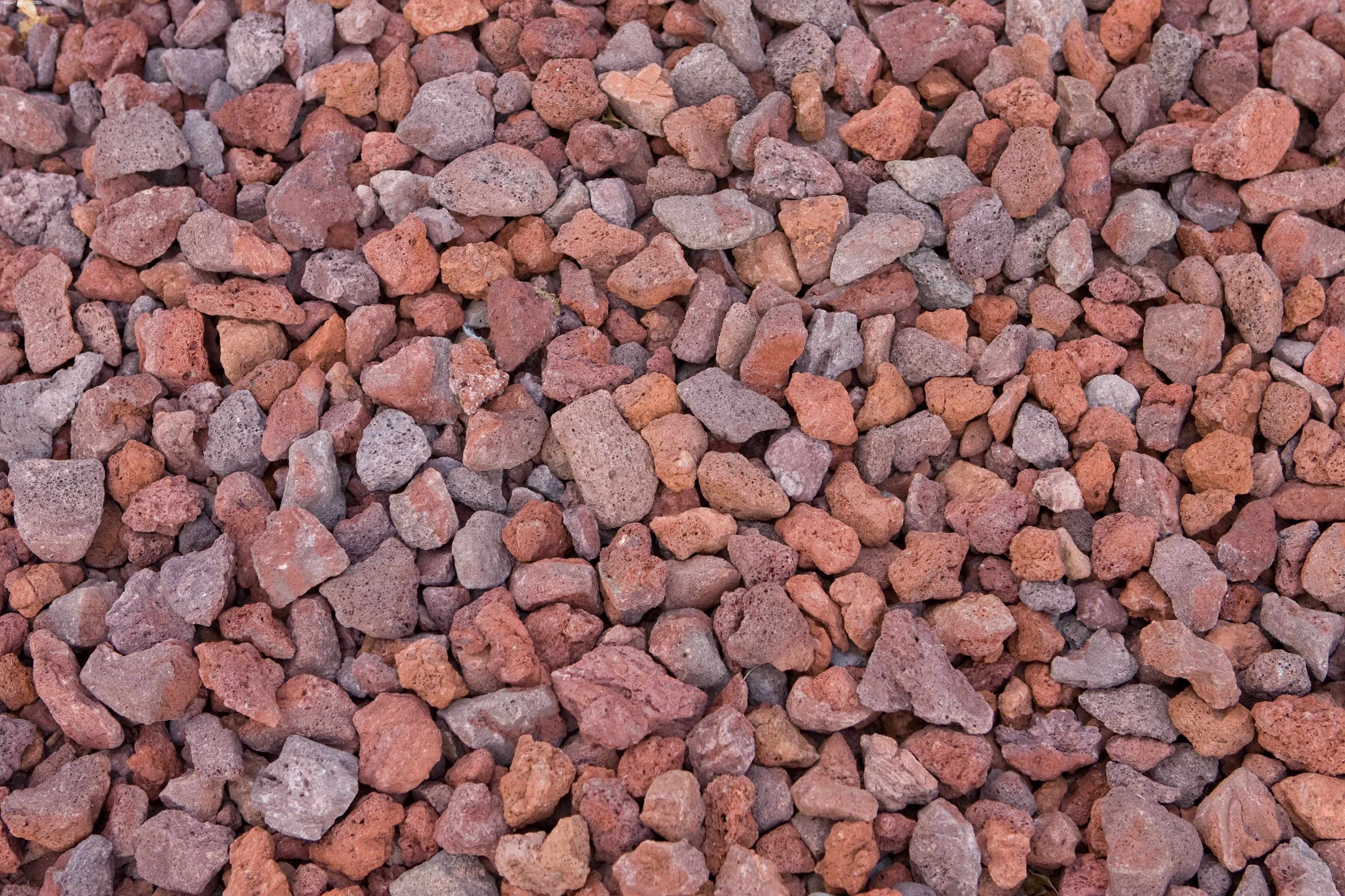 Colored Landscaping Rocks