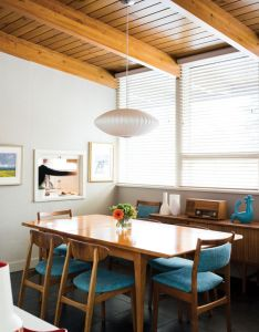 This couple   historic elboya home marries mid century and modern design for  space that goes back to the future be exact also rooms required little or no improvement such as living room rh za pinterest