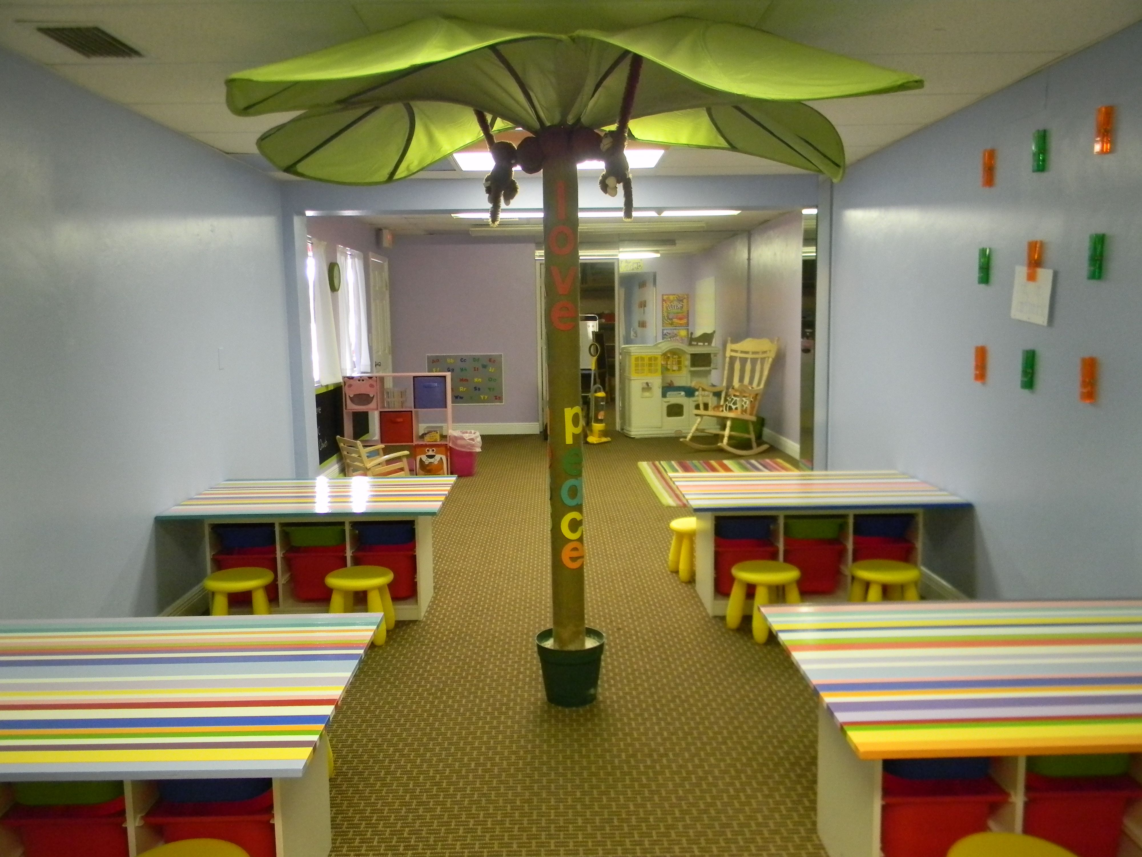 Children's church makeover on a budget.
