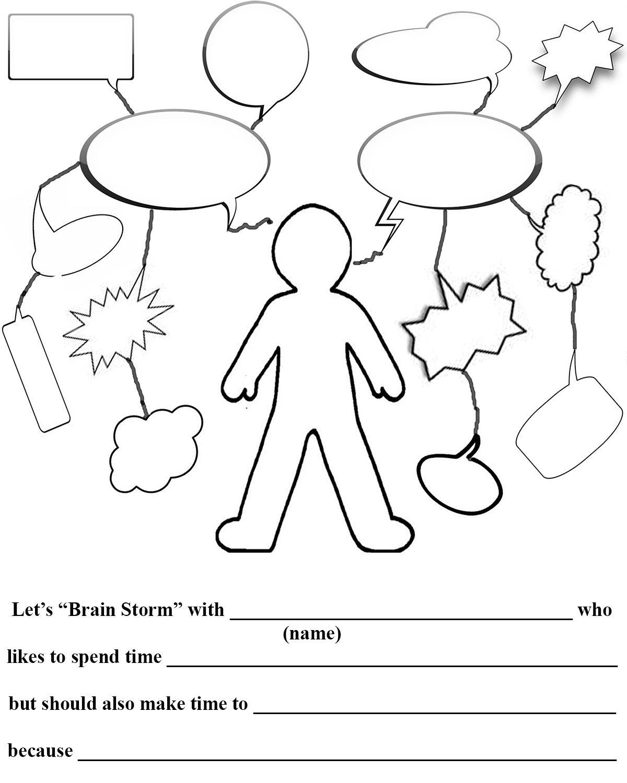 Brainstorming Worksheet. Worksheets. Ratchasima Printable