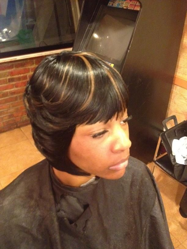 Hairstyle The Shizz Signature Layered Feathered Bob On