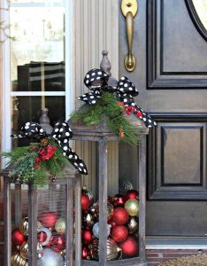 Diy christmas lanters ese are the best homemade decorations  craft ideas outdoor also rh pinterest
