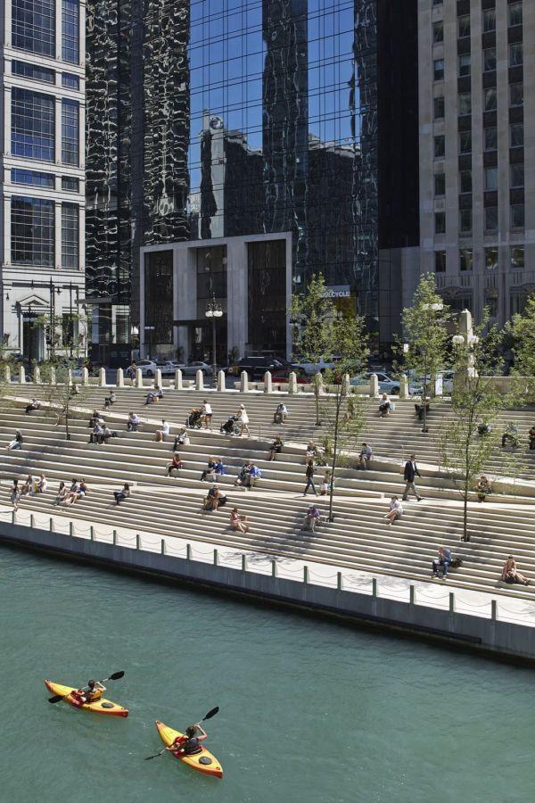 Chicago Riverwalk Department