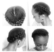 goddess braids short natural