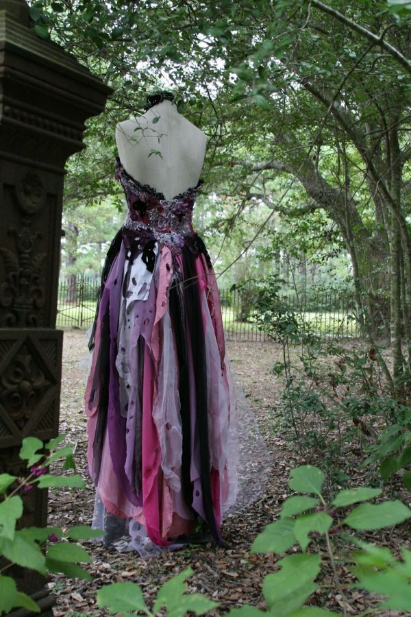 Witch Gothic Wedding Dresses