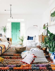 Gypsy room green doors bohemian interior dream rooms bedroom inspo house and home living style justina blakeney also pin by evie rose nairn on my someday abode pinterest rh