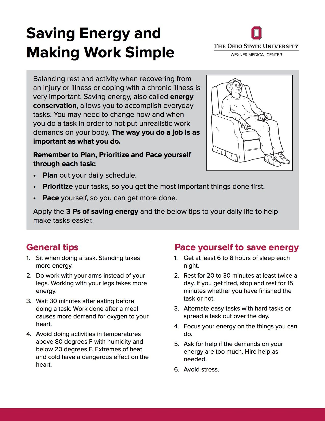 Saving Energy And Making Work Simple From Osu Wexner