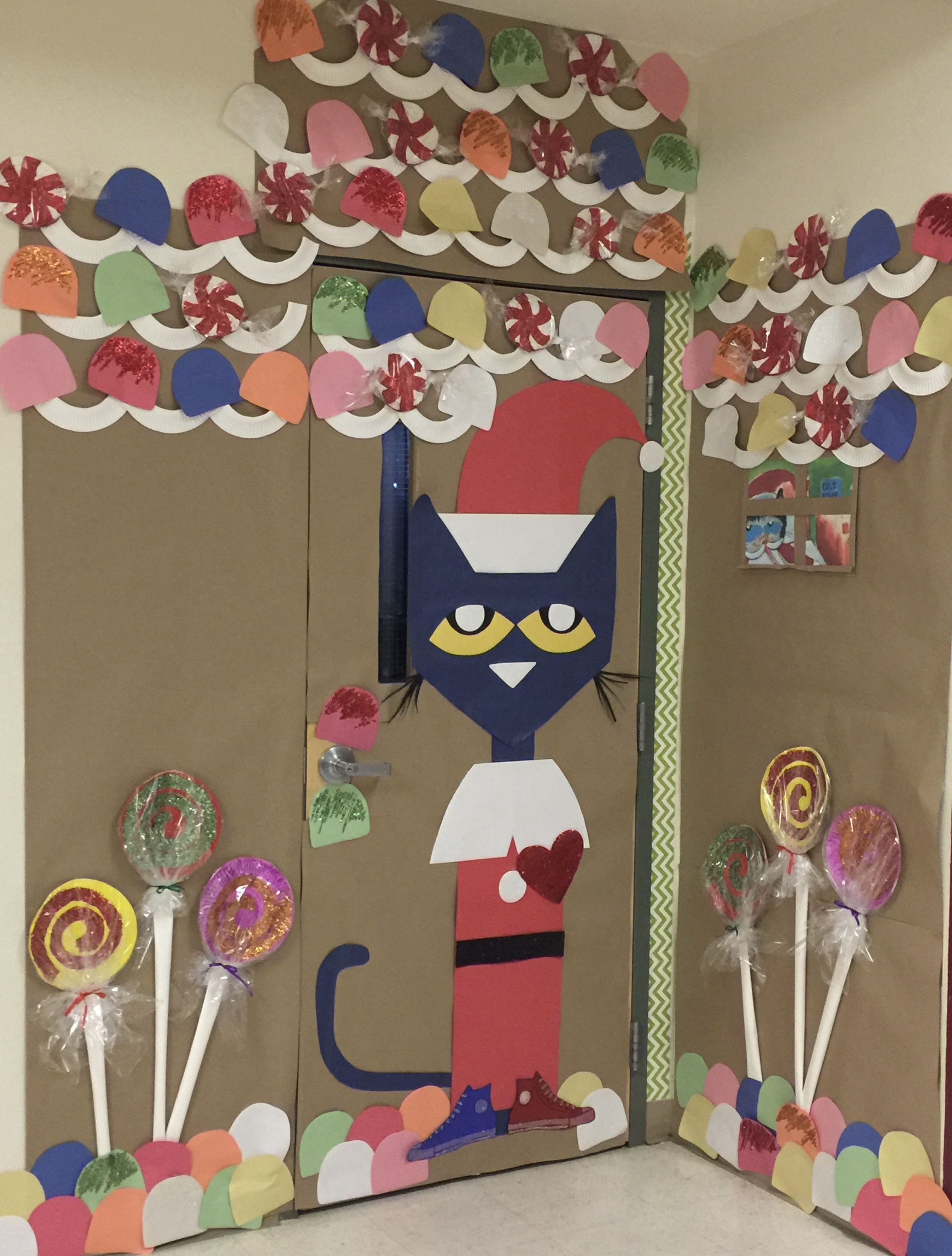 Gingerbread House Classroom Door Decoration