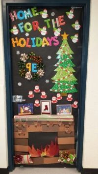 Christmas door decorating contest! | Mrs. Anderson's Class ...