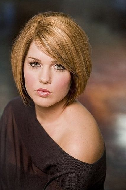 Round Full Face Women Hairstyles For Short Hair Bobs Fats And