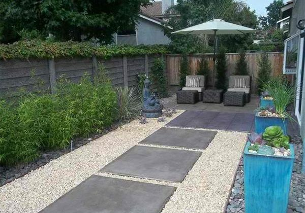 sichtschutz garten steinplatten | mojekop, Garten und erstellen