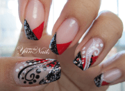 nail art. fashion style and fitness