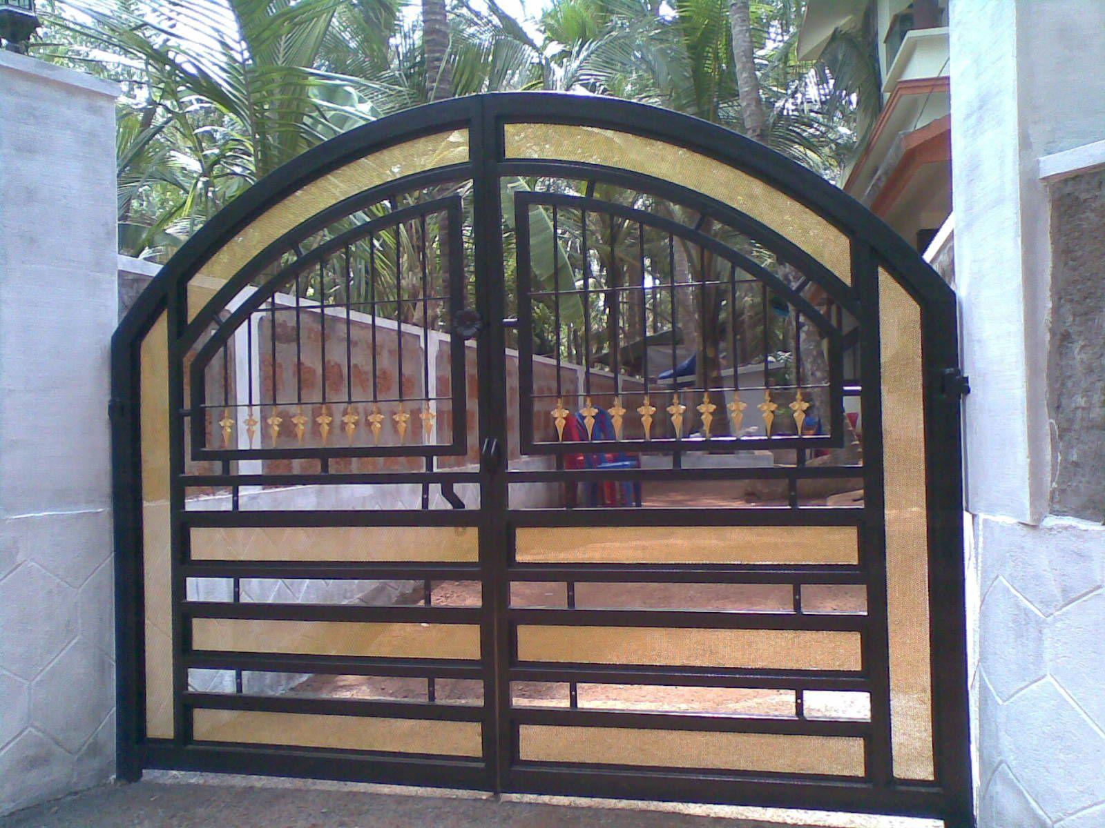 Pretty Simple Gate Designs For Homes In Kerala As Kerala Gate