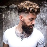 curly hairstyles men 2017