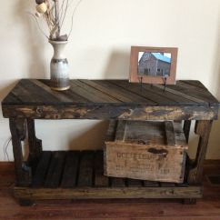 Building A Sofa Table Tree Bed Hong Kong Pallet Entry By The Rustic Recyclery 145 For