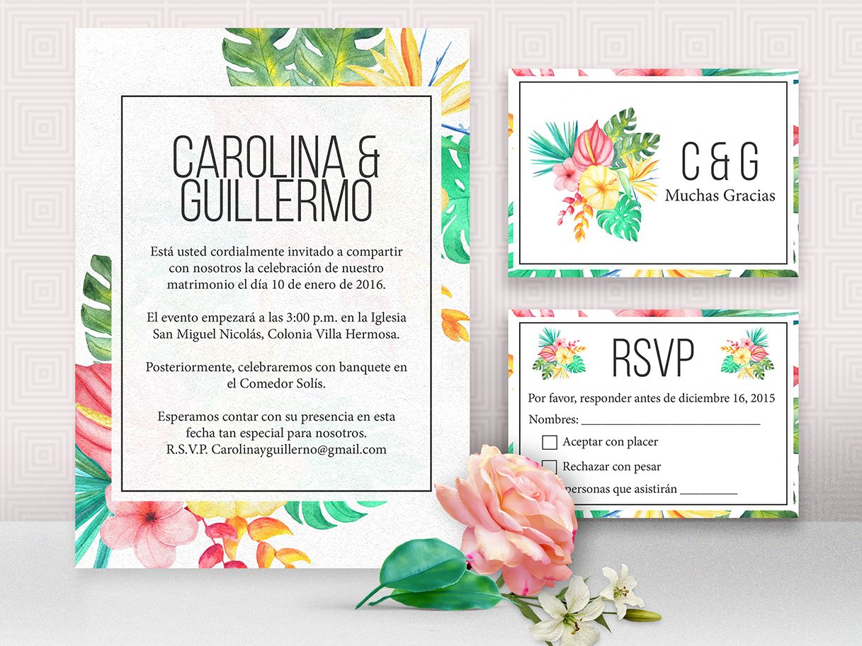 Cheap Wedding Invitations Spanish