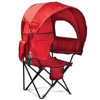 Camp Chair with Canopy | Patio Furniture | Brylanehome ...