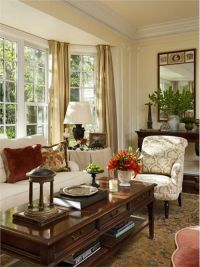 Traditional (Victorian, Colonial) Living Room by Timothy ...