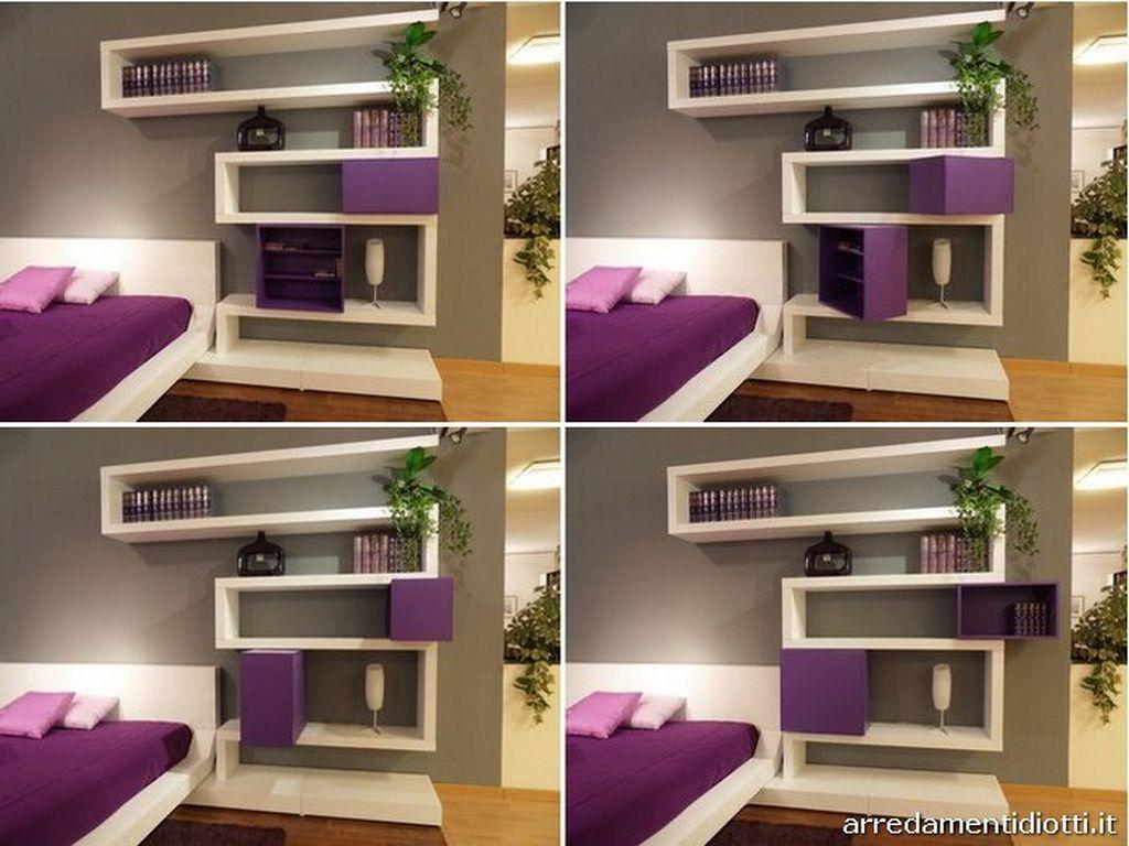 Modernbedroomwallmountedshelvingsystem  Interior