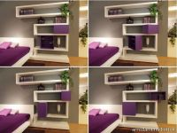 Modern-bedroom-wall-mounted-shelving-system | Interior ...