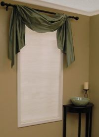 The Right Way to Use a Drapery Valance | Window, Cellular ...