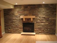 Refacing Brick Fireplace With Stone Veneer. Beautiful ...