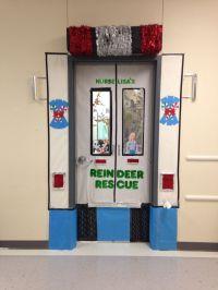 School Nurse Christmas Door Decorations! | office xmas ...