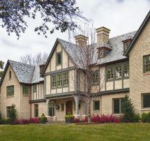English Tudor Style Home Exterior
