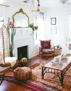beautiful boho living room decoration ideas also rooms rh pinterest