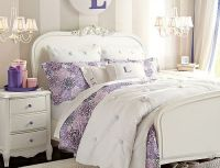 Luxury Bedroom Ideas for Teenage Girl Using Purple Accent