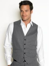 grey vest NO tie | Wedding Attire ideas | Pinterest ...