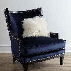 Royal Blue Velvet Sofa Uk Designs Latest In India Elmira Armchair Guest Room Ideas Pinterest Armchairs