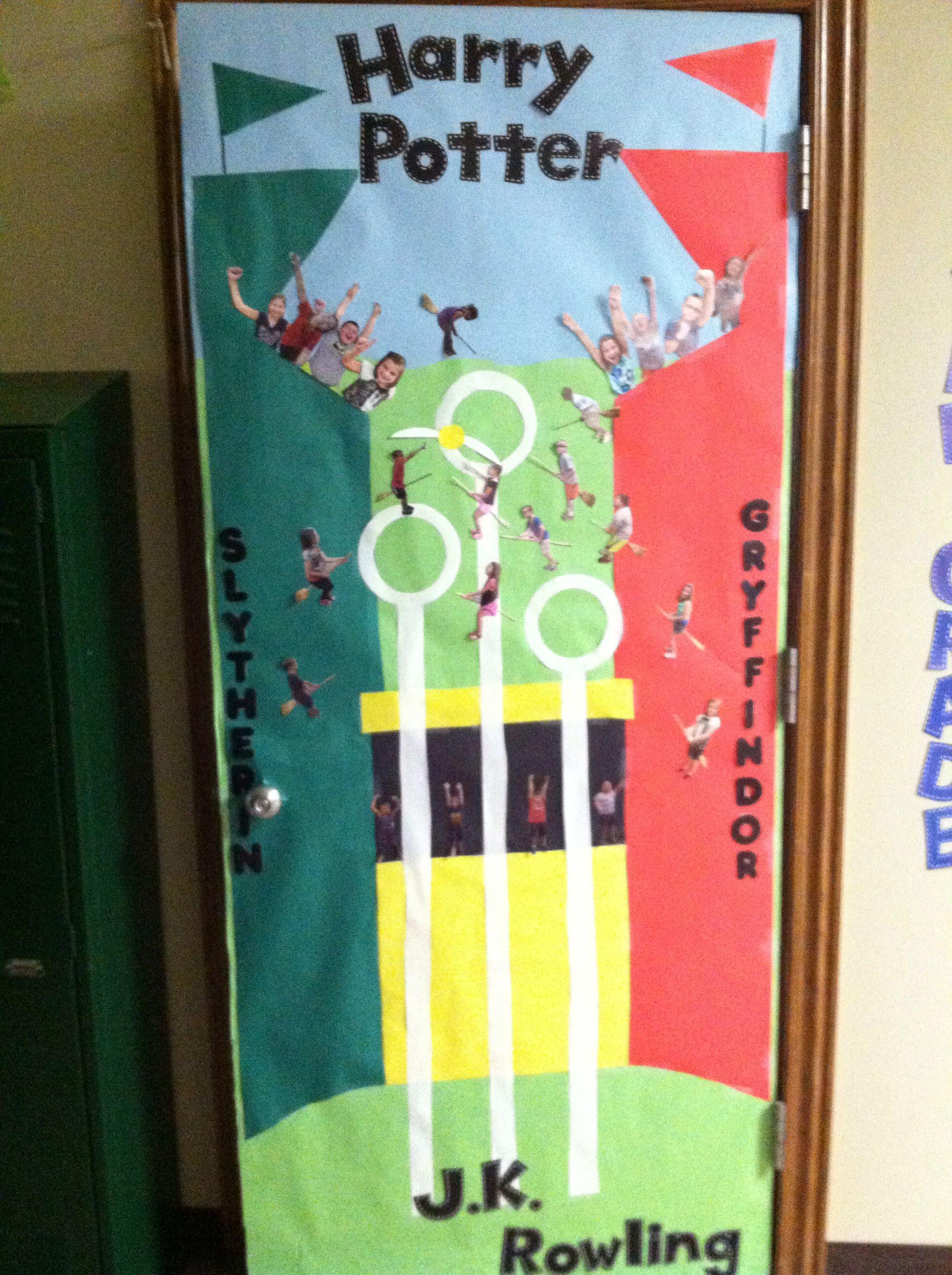 Harry Potter Classroom Door Decoration