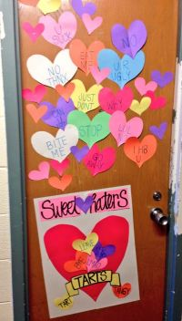 Valentines Day Dorm Door Decoration | Things I've Made ...