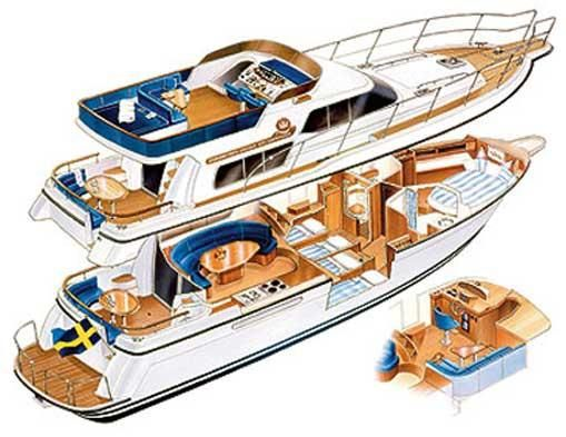 40 Feet Yacht Interior Google Search Yacht Interiors
