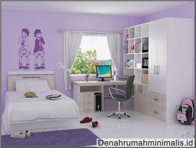 Desain Kamar Tidur Minimalis Ukuran 2 X 2