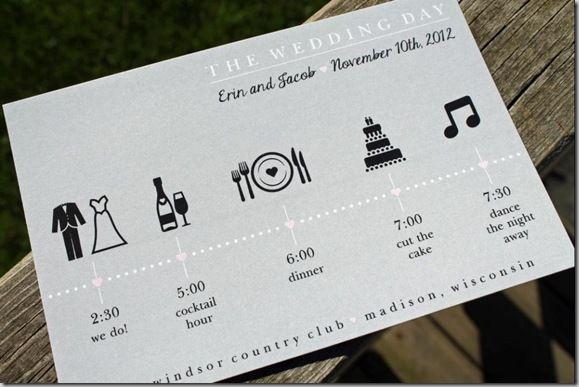 wedding invite timeline   paperinvite, Wedding invitations