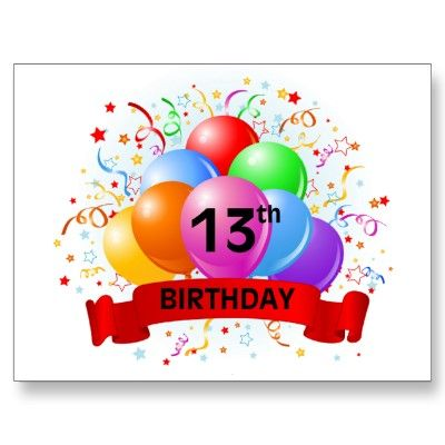 Twin Boy 13th Birthday Decor Happy 13th Birthday 4d2