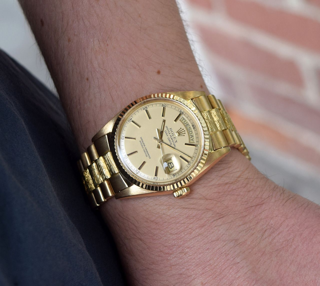 Rolex President Wrist