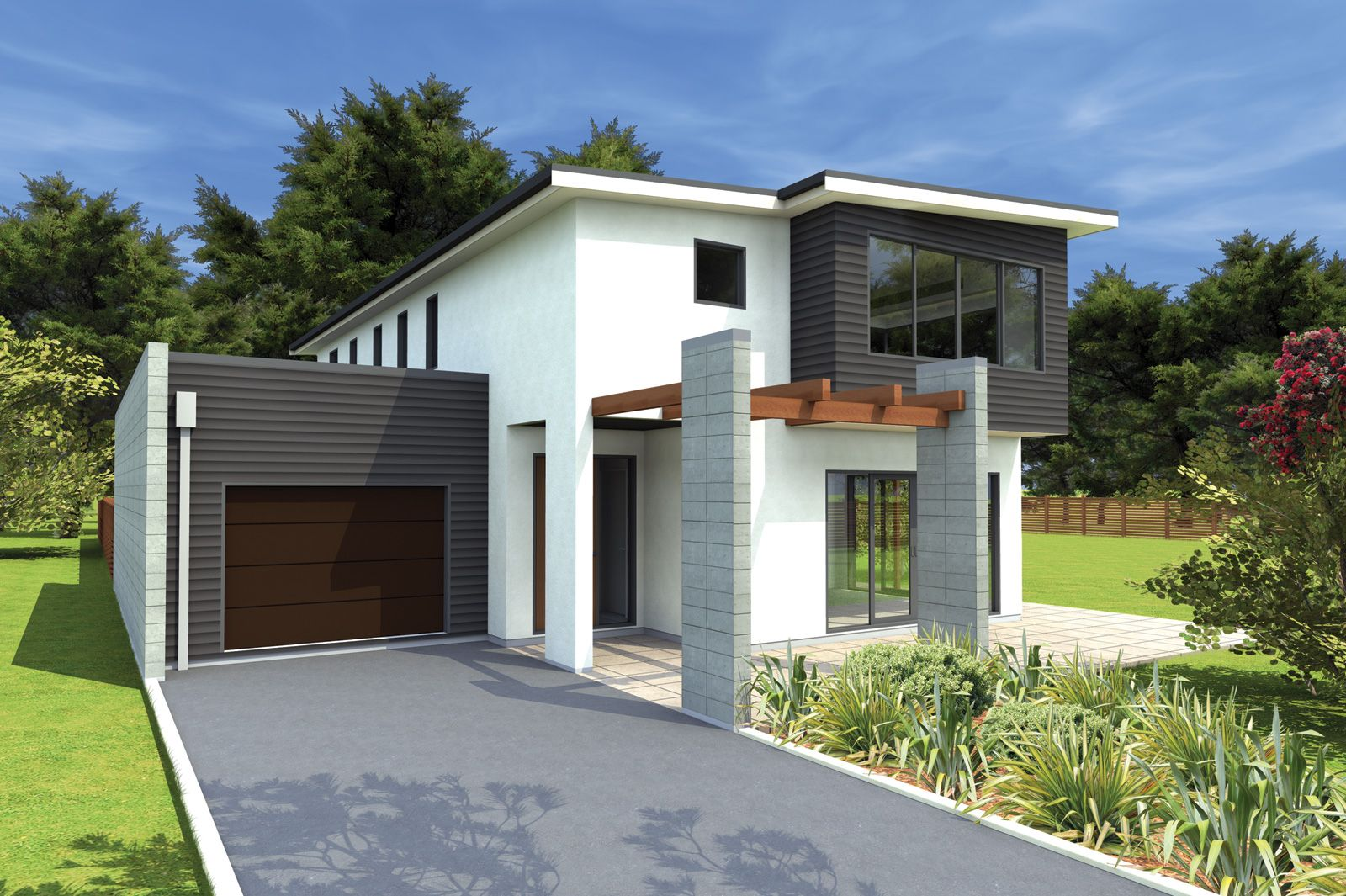Contemporary One Story House Google Search Townhouse