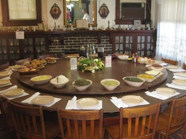 Large Round Dining Table Seats 10 - Foter