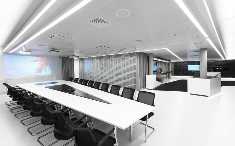 Office Room Design Fantastic Building of Microsofts Briefing Center designed by Coast Office