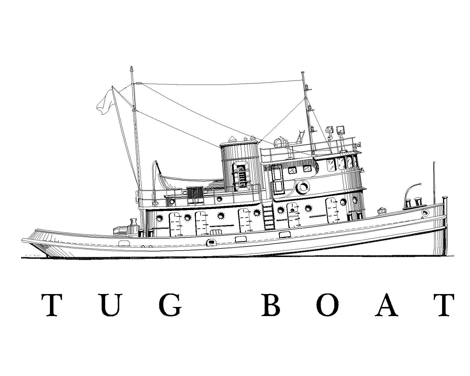 Us Army Tugboat St Wwii Era