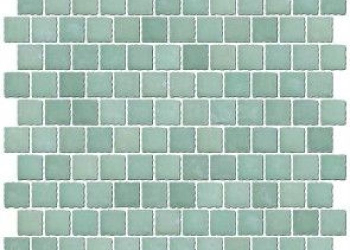 inch frosted sea green glass tile reset in offset layout also nz