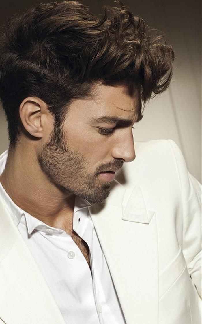Pompadour Curly Hairstyles For Men 'Dat Weave Pinterest