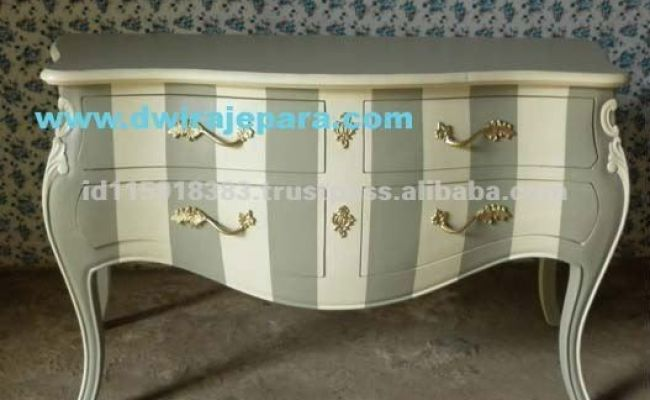 Jepara Furniture Commode Chest Shabby Chic Color From